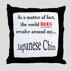 Chin World Throw Pillow